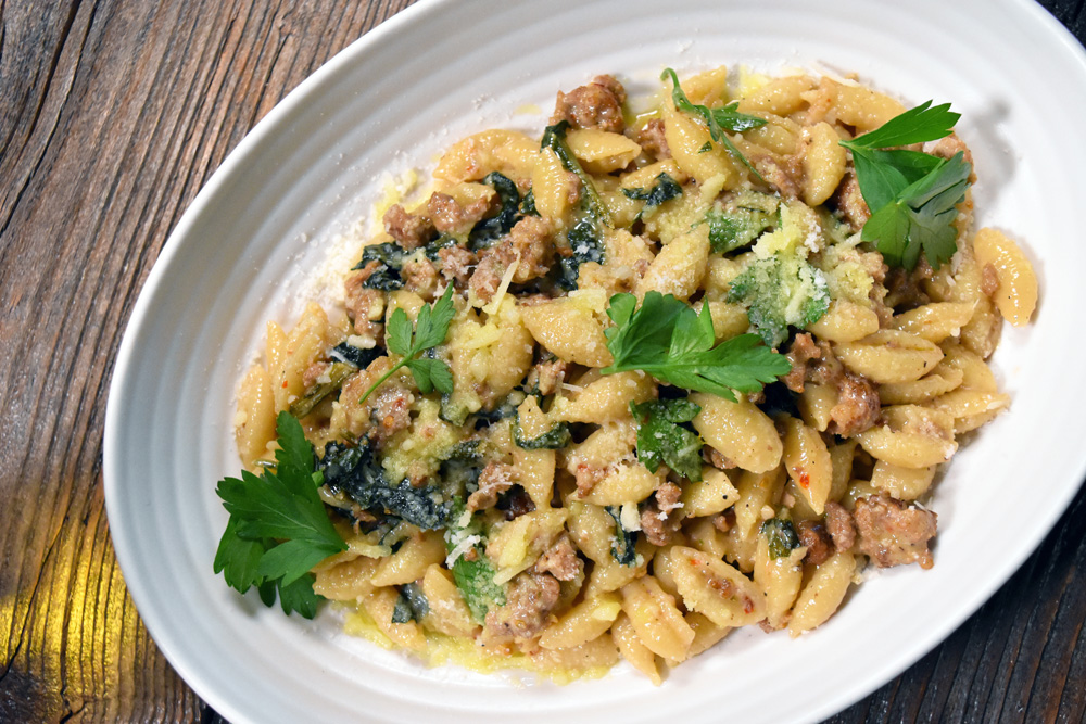 This is a photo of Posto Italian's Cavatelli pasta dish.