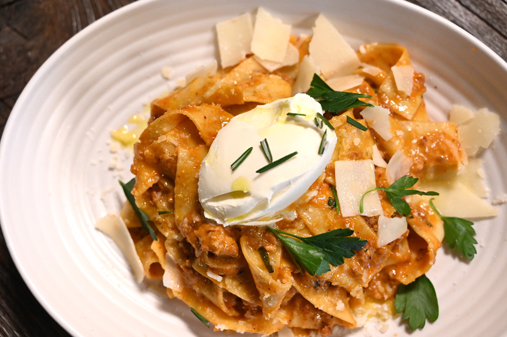 This is a photo of Posto Italian's pappardelle