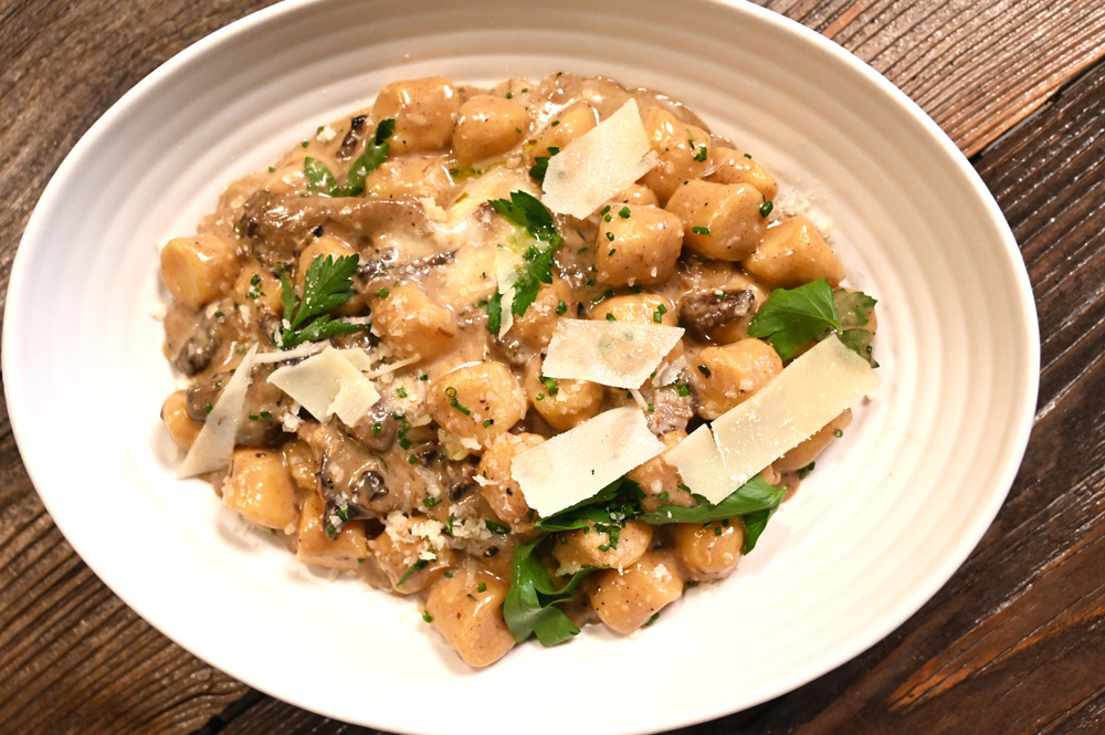 This is a photo of Posto Italian Parmesan Potato Gnocchi
