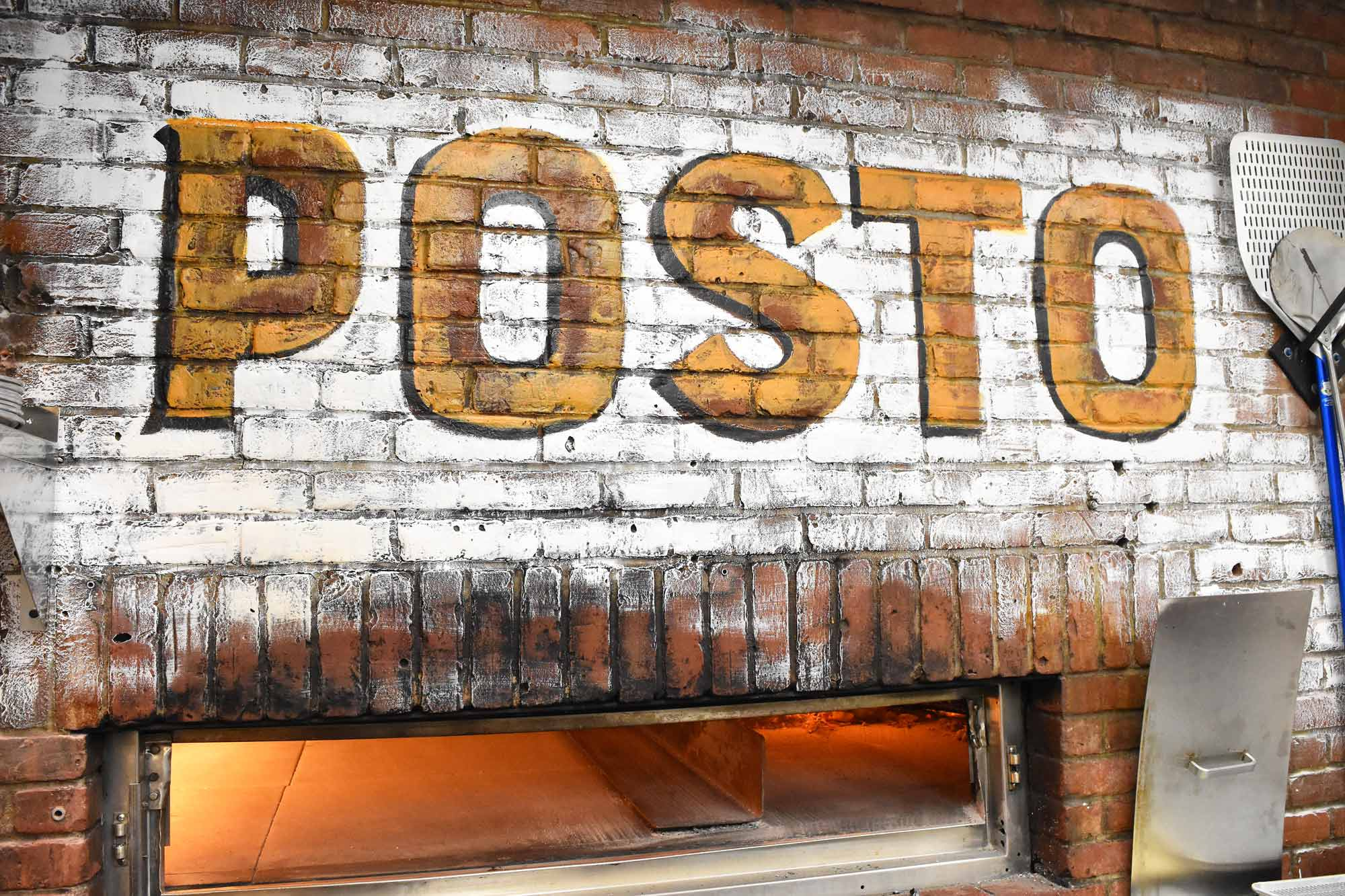 This is a photo of the Posto Brick Oven.